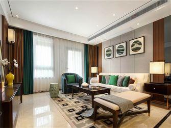 80平米一室一厅现代简约风格客厅图