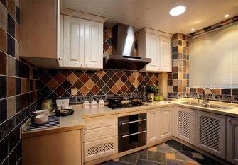 140平米三室三厅地中海风格厨房效果图