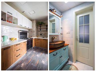 经济型110平米四室两厅英伦风格厨房图