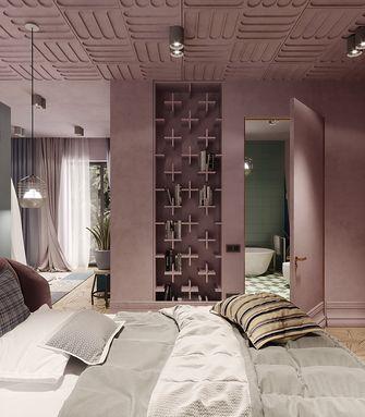 120平米三室一厅北欧风格卧室装修图片大全