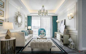 140平米三室一厅现代简约风格客厅沙发效果图