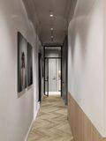 70平米一居室英伦风格走廊装修案例