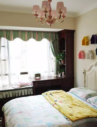120平米三室两厅欧式风格儿童房装修效果图