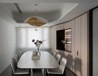 140平米复式现代简约风格餐厅装修图片大全