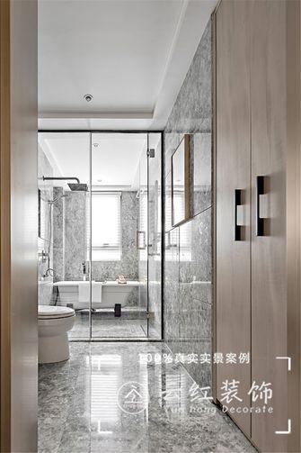 120平米复式现代简约风格卫生间设计图