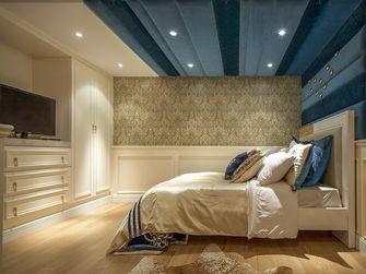130平米三室一厅欧式风格卧室装修效果图