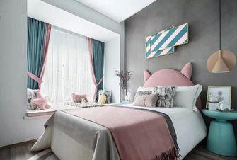 100平米三室两厅北欧风格儿童房图
