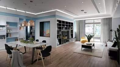 90平米三室两厅北欧风格餐厅图