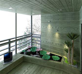 100平米一室三厅现代简约风格阳台欣赏图