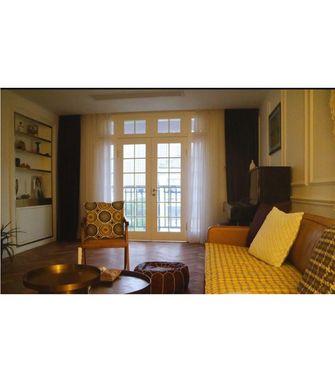 130平米复式欧式风格客厅装修图片大全