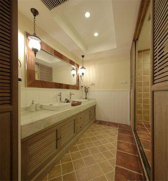 110平米三室两厅地中海风格卫生间图片大全