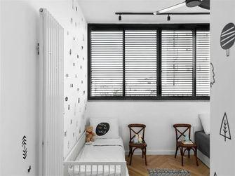100平米三室两厅北欧风格儿童房图片大全