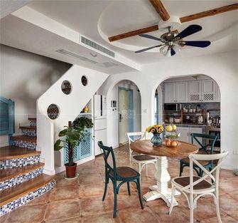 140平米复式地中海风格餐厅装修效果图