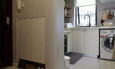 60平米田园风格厨房图