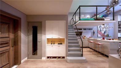 130平米复式混搭风格楼梯间图片
