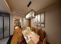 70平米公寓中式风格餐厅装修效果图