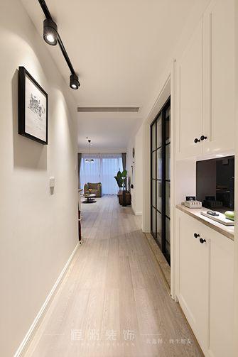 10-15万80平米三室两厅北欧风格玄关设计图