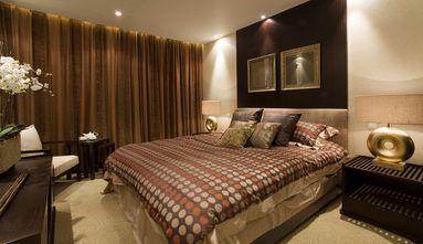 140平米别墅中式风格卧室背景墙效果图