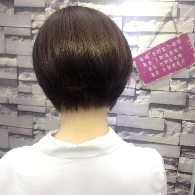 剪发加染发效果图