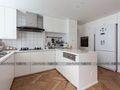 110平米三室两厅现代简约风格厨房家具效果图