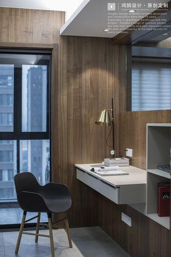 140平米三室三厅现代简约风格书房图片大全