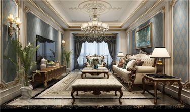 130平米三室两厅法式风格客厅效果图