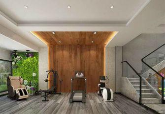 140平米三室一厅中式风格健身室设计图