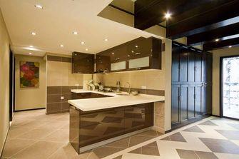 富裕型110平米中式风格厨房装修图片大全