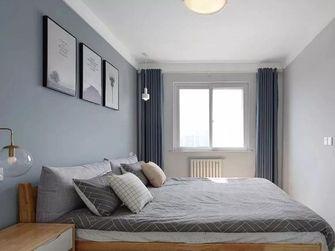 100平米三室两厅北欧风格卧室图片
