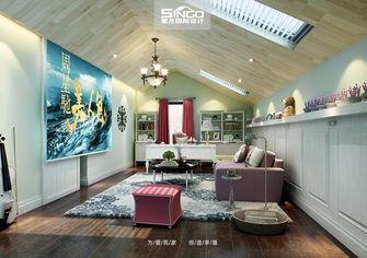20万以上140平米别墅田园风格阁楼设计图