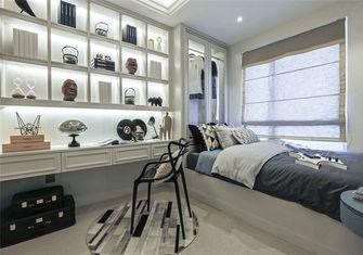 130平米四室两厅法式风格书房装修效果图