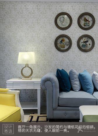 经济型80平米公寓法式风格客厅装修图片大全