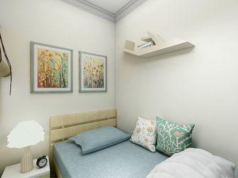 80平米三室一厅田园风格卧室设计图