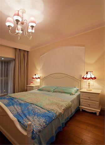 80平米一室一厅地中海风格卧室装修图片大全