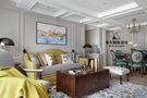豪华型130平米三室两厅法式风格客厅沙发装修效果图