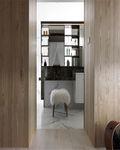 100平米三室一厅北欧风格梳妆台设计图