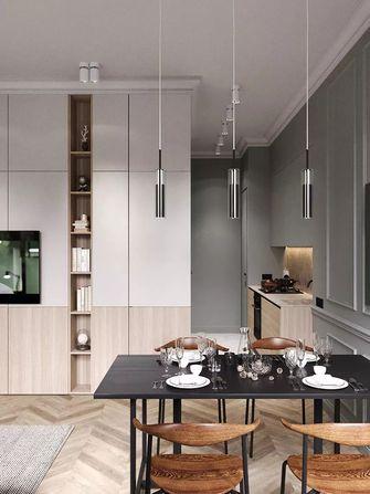 70平米公寓英伦风格厨房图片