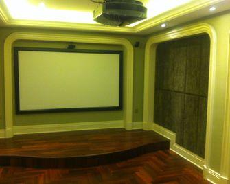 140平米别墅其他风格影音室设计图
