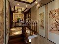 20万以上140平米别墅中式风格楼梯图片大全