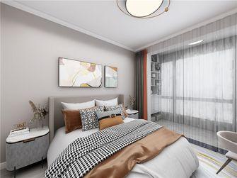 80平米现代简约风格卧室设计图