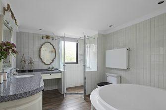 140平米公寓美式风格卫生间欣赏图