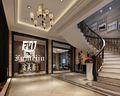 5-10万120平米三室两厅现代简约风格楼梯装修效果图