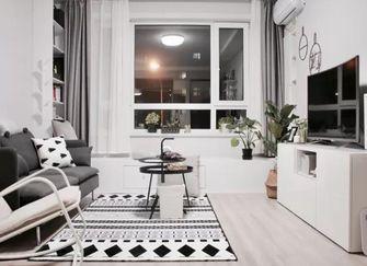 80平米宜家风格客厅图