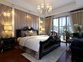 140平米四室一厅英伦风格卧室欣赏图
