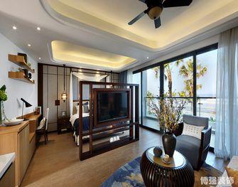 富裕型120平米三室两厅东南亚风格玄关欣赏图