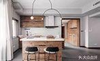 110平米三室两厅北欧风格厨房效果图