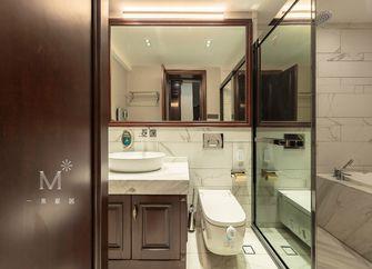 140平米别墅英伦风格卫生间装修效果图