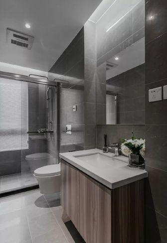 130平米三现代简约风格卫生间装修图片大全