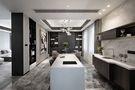 140平米复式现代简约风格厨房图