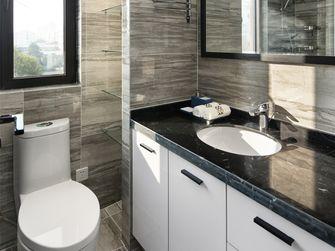 120平米三室两厅现代简约风格卫生间浴室柜效果图